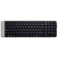 Клавиатура Logitech Wireless Keyboard K230 Black USB