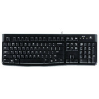 Клавиатура Logitech Keyboard K120 EER Black USB