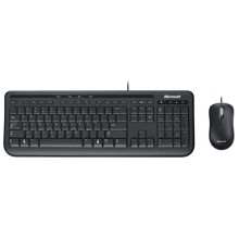 Клавиатура и мышь Microsoft Wired Desktop 600 Black USB
